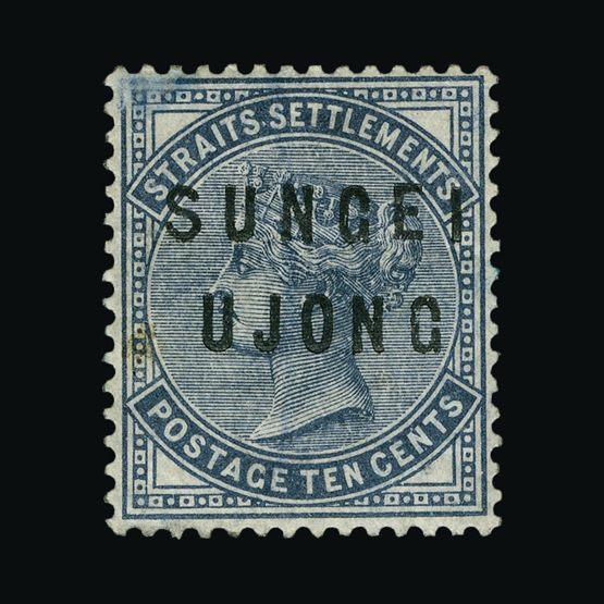 Lot 13990 - Malaya - Sungei Ujong 1882-84 -  Universal Philatelic Auctions Sale #76 worldwide Collections