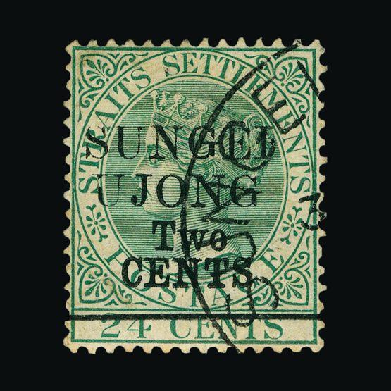 Lot 13995 - Malaya - Sungei Ujong 1891 -  Universal Philatelic Auctions Sale #76 worldwide Collections