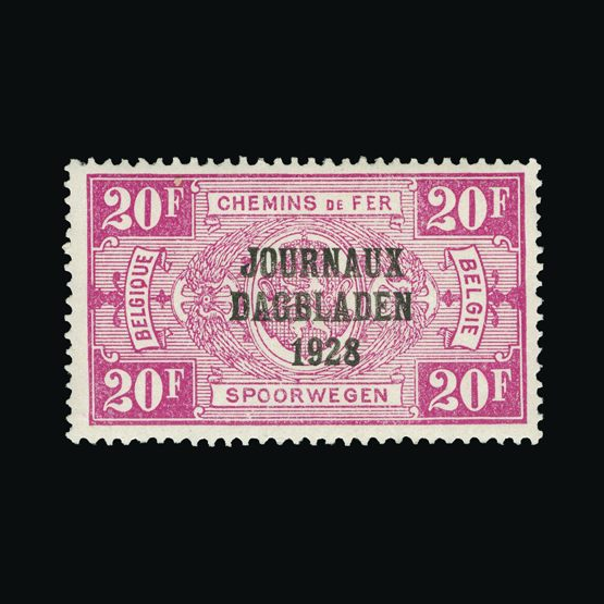 Lot 1581 - Belgium 1928 -  Universal Philatelic Auctions Sale #76 worldwide Collections