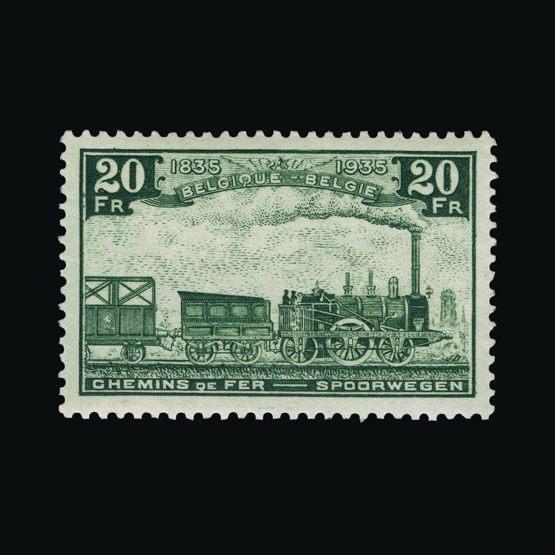 Lot 1588 - Belgium 1935 -  Universal Philatelic Auctions Sale #76 worldwide Collections