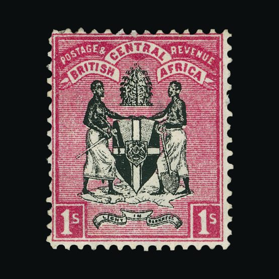 Lot 16104 - nyasaland 1896 -  Universal Philatelic Auctions Sale #76 worldwide Collections