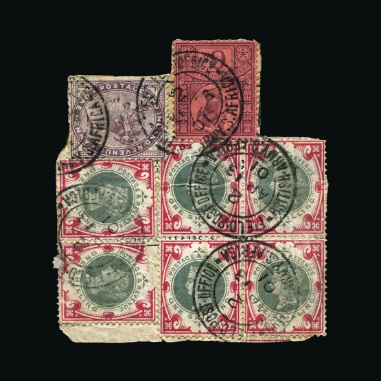 Lot 17855 - south africa 1901 -  Universal Philatelic Auctions Sale #76 worldwide Collections