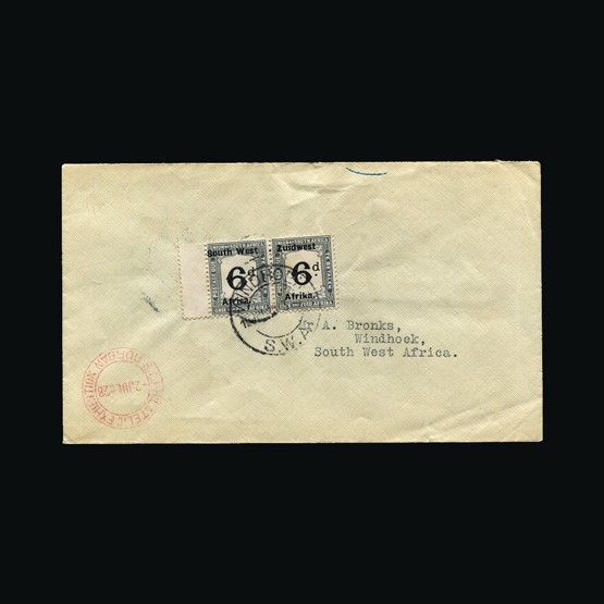 Lot 18024 - south west africa 1928 -  Universal Philatelic Auctions Sale #76 worldwide Collections