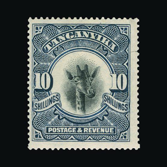 Lot 18898 - tanganyika 1922-24 -  Universal Philatelic Auctions Sale #76 worldwide Collections