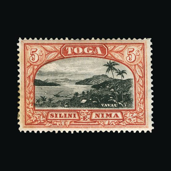 Lot 18953 - tonga 1897 -  Universal Philatelic Auctions Sale #76 worldwide Collections