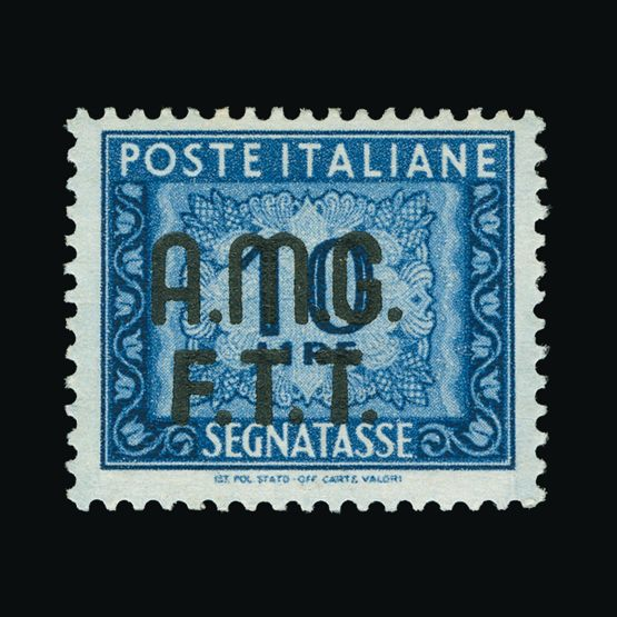 Lot 19085 - trieste - zone a 1947-49 -  Universal Philatelic Auctions Sale #76 worldwide Collections