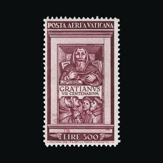 Lot 19698 - vatican 1951 -  Universal Philatelic Auctions Sale #76 worldwide Collections