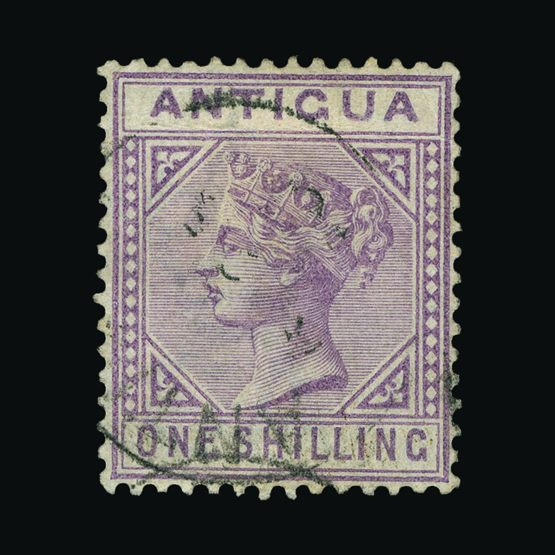 Lot 19877 - antigua 1884-87 -  Universal Philatelic Auctions Sale #76 worldwide Collections