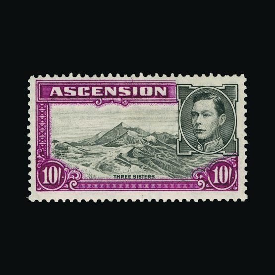 Lot 19886 - Ascension 1937-40 -  Universal Philatelic Auctions Sale #76 worldwide Collections