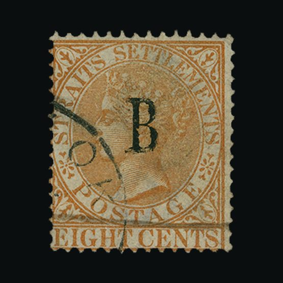 Lot 19924 - british post offices in siam 1882-85 -  Universal Philatelic Auctions Sale #76 worldwide Collections