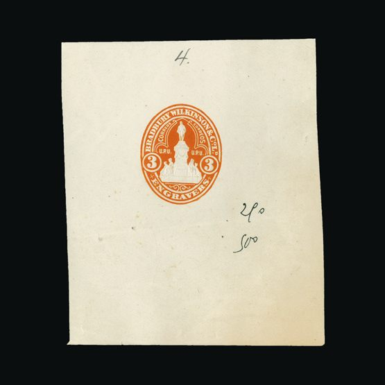 Lot 212 - Bradbury Wilkinson Collection  -  Universal Philatelic Auctions Sale #76 worldwide Collections