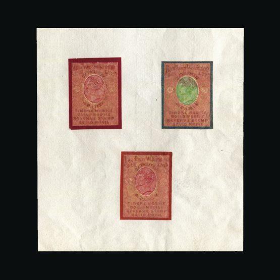 Lot 214 - Bradbury Wilkinson Collection  -  Universal Philatelic Auctions Sale #76 worldwide Collections