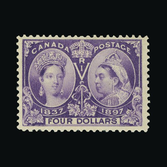 Lot 2604 - Canada 1897 -  Universal Philatelic Auctions Sale #76 worldwide Collections