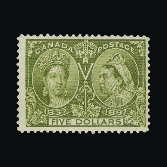 Lot 2605 - Canada 1897 -  Universal Philatelic Auctions Sale #76 worldwide Collections