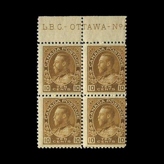 Lot 2723 - Canada 1922-31 -  Universal Philatelic Auctions Sale #76 worldwide Collections