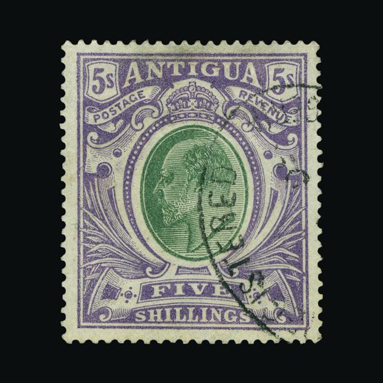 Lot 441 - antigua 1903-07 -  Universal Philatelic Auctions Sale #76 worldwide Collections