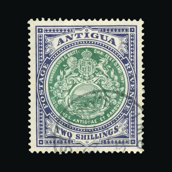 Lot 446 - antigua 1908-17 -  Universal Philatelic Auctions Sale #76 worldwide Collections