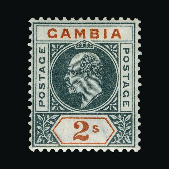 Lot 5273 - gambia 1902-05 -  Universal Philatelic Auctions Sale #76 worldwide Collections