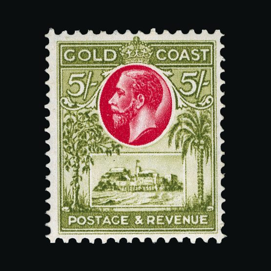 Lot 6077 - gold coast 1928 -  Universal Philatelic Auctions Sale #76 worldwide Collections