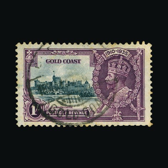 Lot 6082 - gold coast 1935 -  Universal Philatelic Auctions Sale #76 worldwide Collections