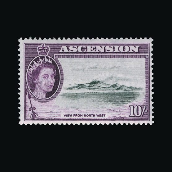 Lot 656 - Ascension 1956 -  Universal Philatelic Auctions Sale #76 worldwide Collections