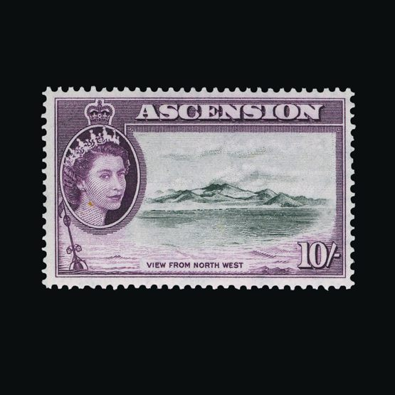 Lot 662 - Ascension 1956 -  Universal Philatelic Auctions Sale #76 worldwide Collections
