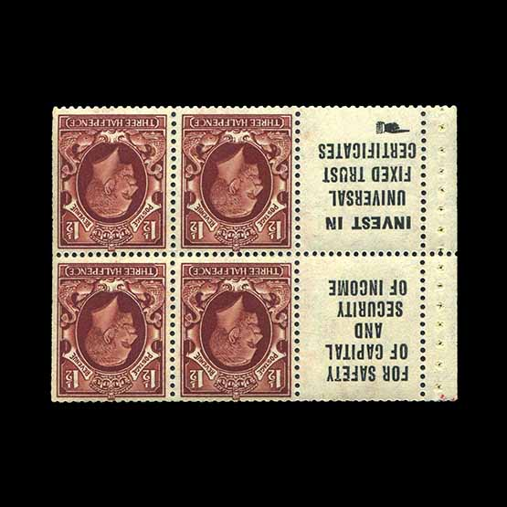 Lot 8998 - Great Britain - KGV 1934 -  Universal Philatelic Auctions Sale #76 worldwide Collections