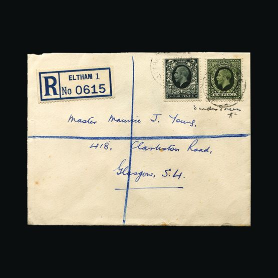 Lot 9532 - Great Britain - Covers - KGV 1935 -  Universal Philatelic Auctions Sale #76 worldwide Collections