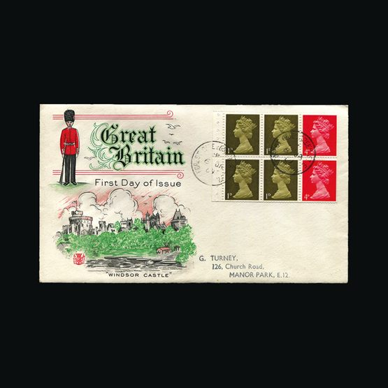 Lot 9574 - Great Britain - Covers - QEII 1969 -  Universal Philatelic Auctions Sale #76 worldwide Collections