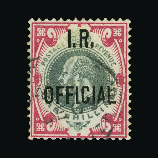 Lot 9817 - Great Britain - Officials 1902-04 -  Universal Philatelic Auctions Sale #76 worldwide Collections