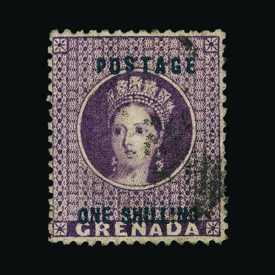 Lot 11245 - Grenada 1875 -  Universal Philatelic Auctions Sale #77 worldwide Collections
