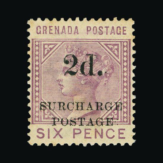 Lot 11256 - Grenada 1892 -  Universal Philatelic Auctions Sale #77 worldwide Collections