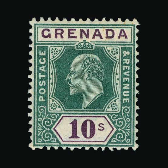 Lot 11265 - Grenada 1902 -  Universal Philatelic Auctions Sale #77 worldwide Collections