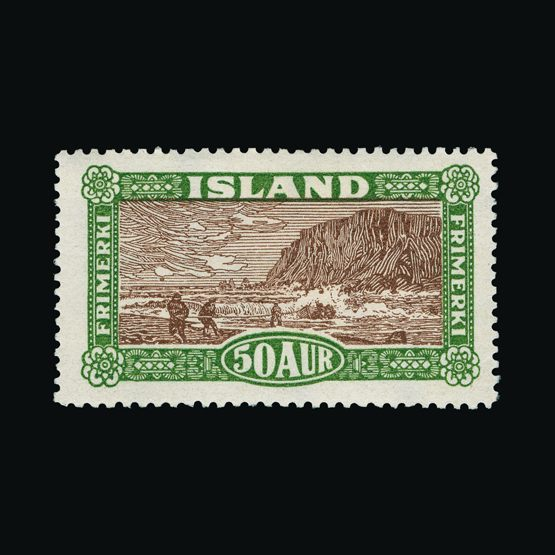 Lot 12030 - Iceland 1925 -  Universal Philatelic Auctions Sale #77 worldwide Collections