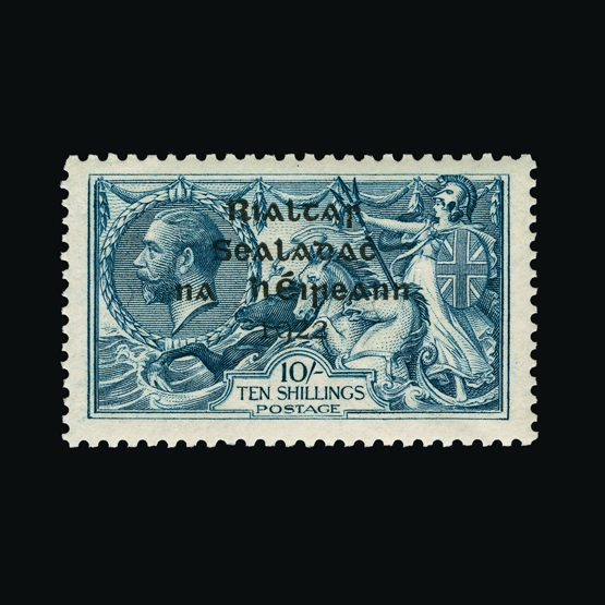 Lot 12541 - ireland 1922 -  Universal Philatelic Auctions Sale #77 worldwide Collections