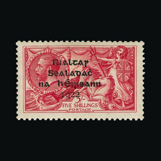 Lot 12542 - ireland 1922 -  Universal Philatelic Auctions Sale #77 worldwide Collections