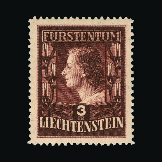 Lot 13692 - Liechtenstein 1951-52 -  Universal Philatelic Auctions Sale #77 worldwide Collections