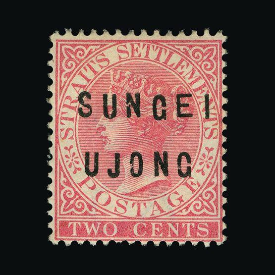 Lot 14380 - Malaya - Sungei Ujong 1882-84 -  Universal Philatelic Auctions Sale #77 worldwide Collections