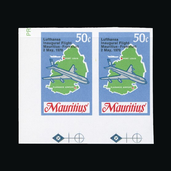Lot 14679 - Mauritius 1970 -  Universal Philatelic Auctions Sale #77 worldwide Collections