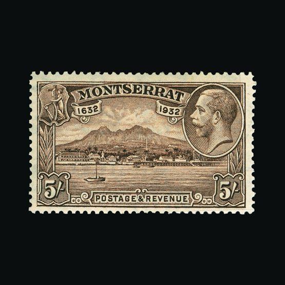 Lot 14849 - montserrat 1932 -  Universal Philatelic Auctions Sale #77 worldwide Collections