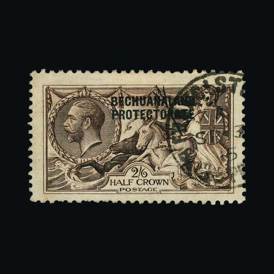 Lot 1502 - bechuanaland 1913-24 -  Universal Philatelic Auctions Sale #77 worldwide Collections