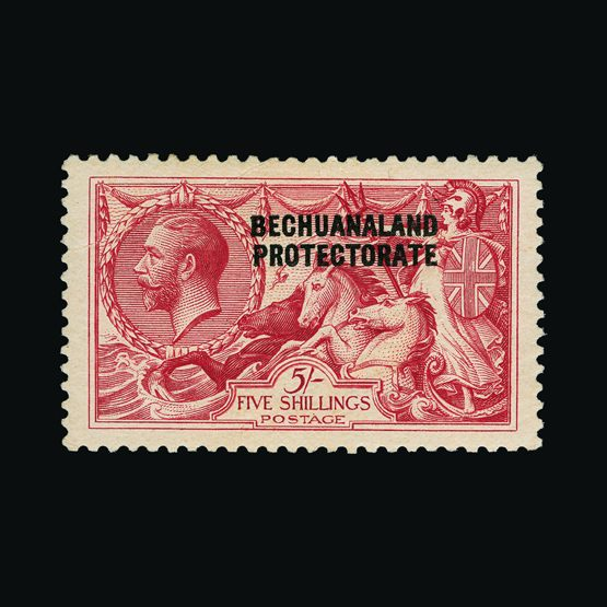 Lot 1514 - bechuanaland 1913-24 -  Universal Philatelic Auctions Sale #77 worldwide Collections