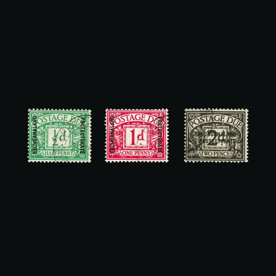 Lot 1522 - bechuanaland 1926 -  Universal Philatelic Auctions Sale #77 worldwide Collections