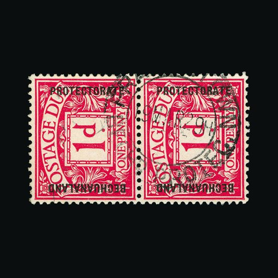 Lot 1524 - bechuanaland 1926 -  Universal Philatelic Auctions Sale #77 worldwide Collections