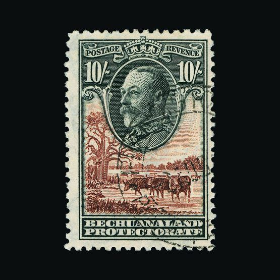 Lot 1530 - bechuanaland 1932 -  Universal Philatelic Auctions Sale #77 worldwide Collections