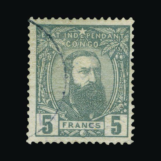 Lot 1682 - Belgium - Belgian Congo 1887-94 -  Universal Philatelic Auctions Sale #77 worldwide Collections