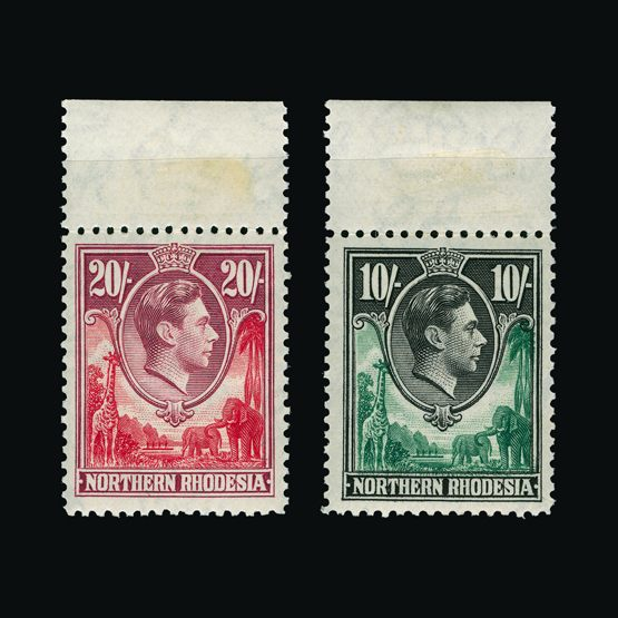 Lot 17027 - Rhodesia - Northern Rhodesia 1938-52 -  Universal Philatelic Auctions Sale #77 worldwide Collections
