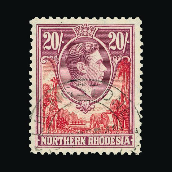 Lot 17028 - Rhodesia - Northern Rhodesia 1938-52 -  Universal Philatelic Auctions Sale #77 worldwide Collections