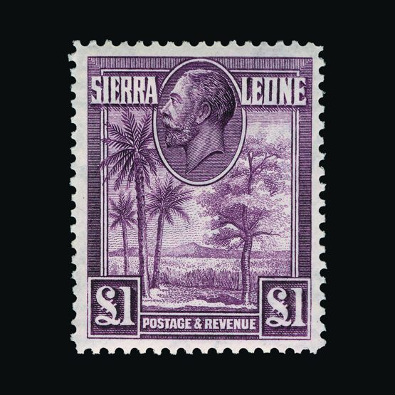 Lot 17800 - sierra leone 1932 -  Universal Philatelic Auctions Sale #77 worldwide Collections
