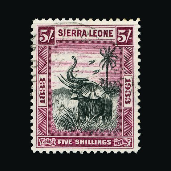 Lot 17812 - sierra leone 1933 -  Universal Philatelic Auctions Sale #77 worldwide Collections